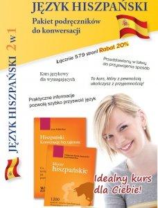 Język hiszpański 2w1. Pakiet podręczników do konwersacji