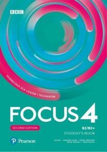 Focus Second Edition 4 Student's Book + kod (Digital Resources + Interactive eBook + MyEnglishLab)