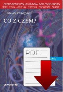 Co z czym? Ćwiczenia składniowe dla grup zaawansowanych z języka polskiego dla obcokrajowców (B2, C1) EBOOK