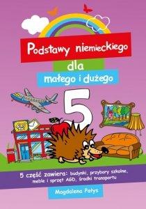 Podstawy niemieckiego dla małego i dużego 5. Książeczka do nauki słówek dla każdego