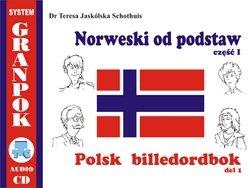 Norweski od podstaw 1. Ilustrowany słownik norwesko-polski z płytą CD