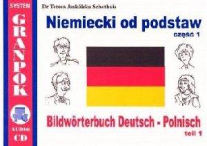 Niemiecki od podstaw 1. Ilustrowany słownik niemiecko-polski z płytą CD
