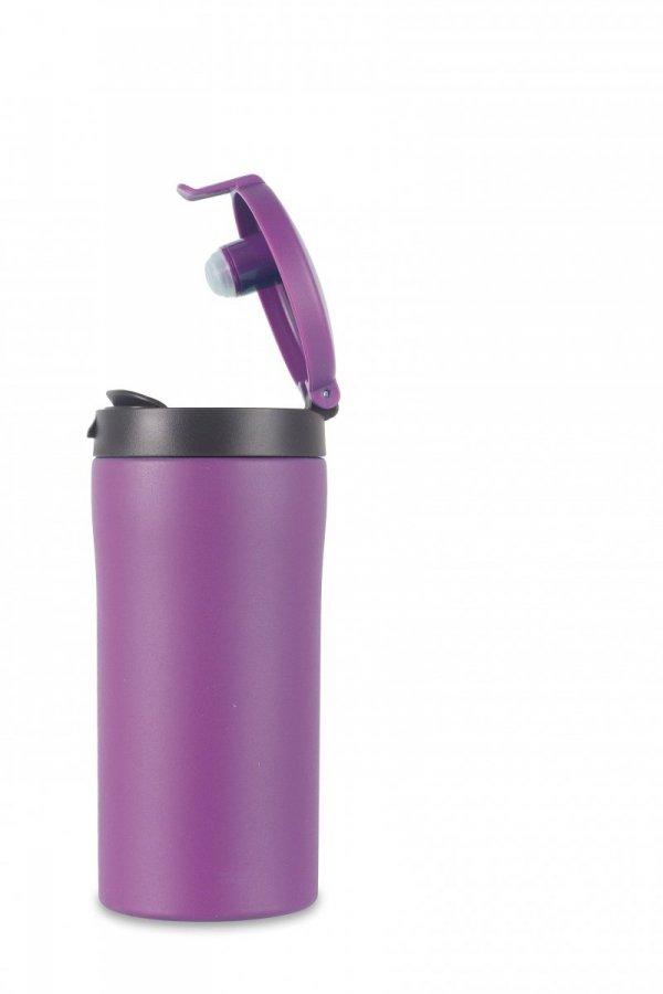Flip-Top Thermal Mug 300ml, Purple