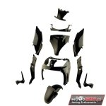 Owiewki plastiki YAMAHA X-MAX 125 250 / MBK SKYCRUISER 2006 - 2009 czarne TUN'R