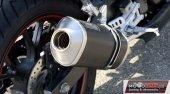 Sportowy wydech GIANNELLI IPERSPORT aluminium DARK