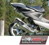Sportowy wydech GIANNELLI CR Extra CHROM Aerox