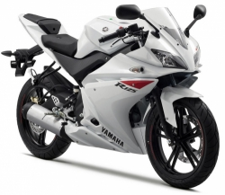 2010 Yamaha YZF-R125 WHTE COCKTAIL
