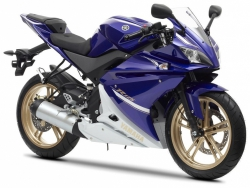 2012 Yamaha R-125 DEEP PURPLISH BLUE METALLIC