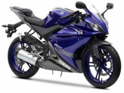 2013 Yamaha YZF-R125 DEEP PURPLISH BLUE METALLIC 1