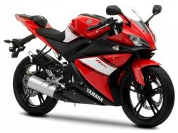 2009 Yamaha YZF-R125 VIVID RED