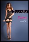 Pończochy kabaretka Erotica Calze 151 czarne M/L