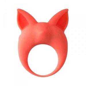 Pierscien- Vibrating Cockring MiMi Animals Kitten Kyle Orange