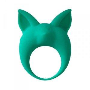 Pierścień- Vibrating Cockring MiMi Animals Kitten Kyle Green