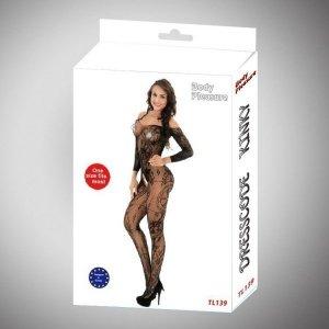 Body Pleasure - TL139 - S/M - Bodystocking - black