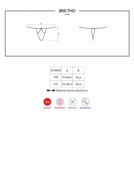 Bielizna-866-THO-1 stringi L/XL