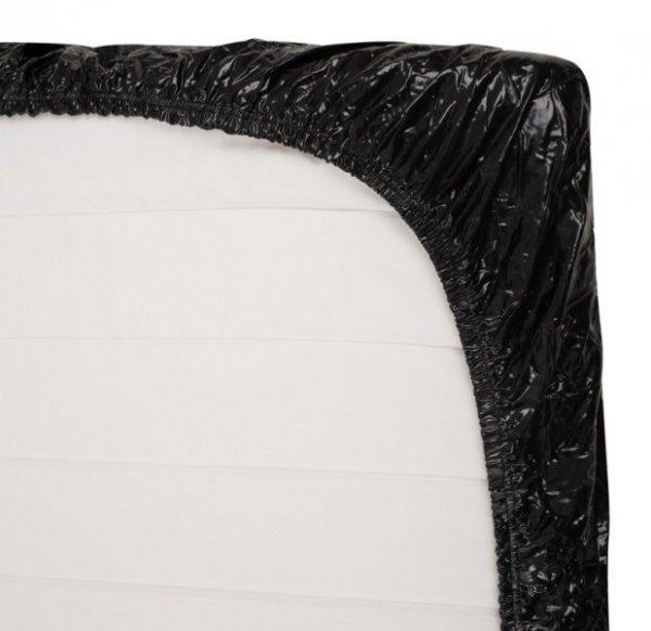 Czarne prześcieradło 160 x 200 cm