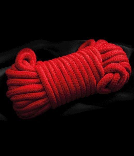 Czerwona lina do krępowania 3m