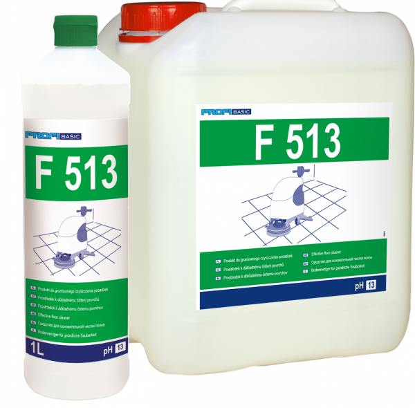 PROFIBASIC F513 - gruntowne czyszczenie posadzek 5l