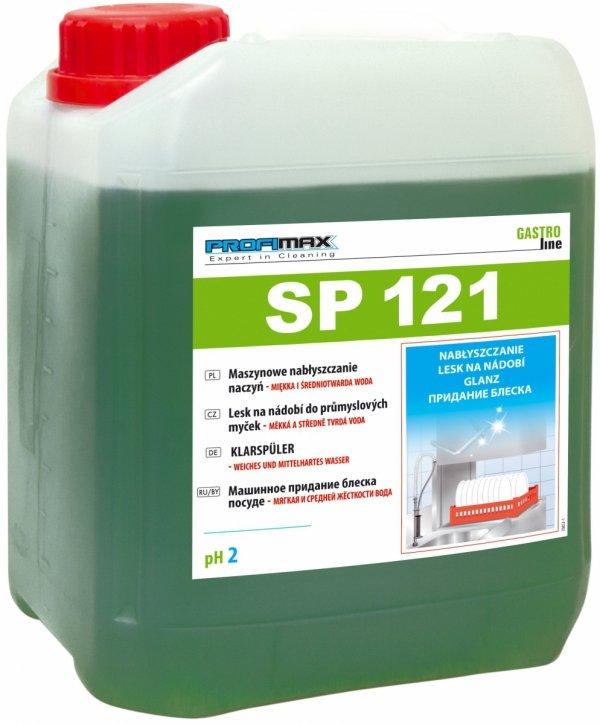 PROFIMAX SP 121 - maszynowe nabłyszczanie naczyń (woda miękka i średniotwarda) 10L