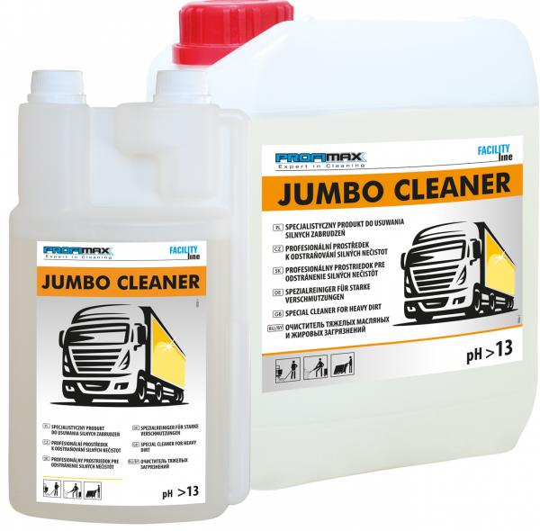 JUMBO CLEANER - środek do usuwania silnych zabrudzeń 1l
