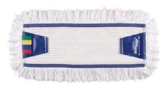 Mop Tes bawełna biała tuft krzyżowy linia premium 50cm Pętelkowo  - Ciety
