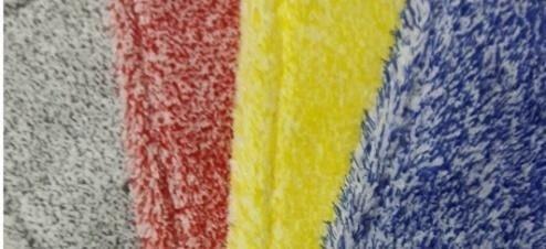 Mop Kombi mikrofaza biało-czerwona linia premium 40cm
