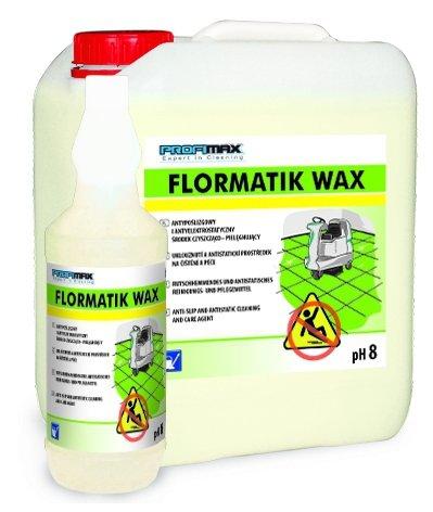 FLORMATIK WAX  - ANTYPOŚLIZGOWY środek czyszczący 1l