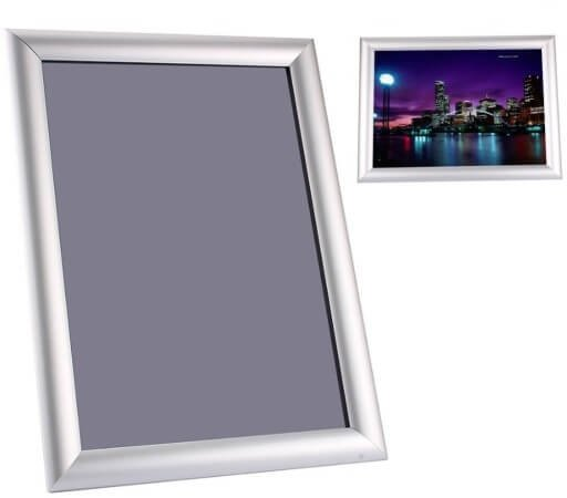 Ramka Rama OWZ aluminiowa zatrzaskowa format A4