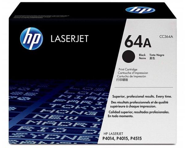 HP Toner nr 64A CC364A Black 10K