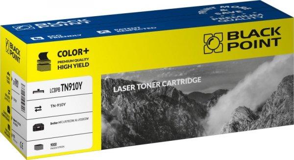 Black Point toner LCBPBTN910Y zastępuje Brother TN-910Y, żółty