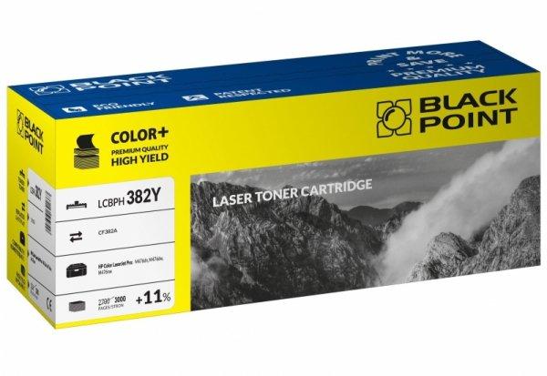 Black Point toner LCBPH382Y zastępuje HP CF382A, żółty