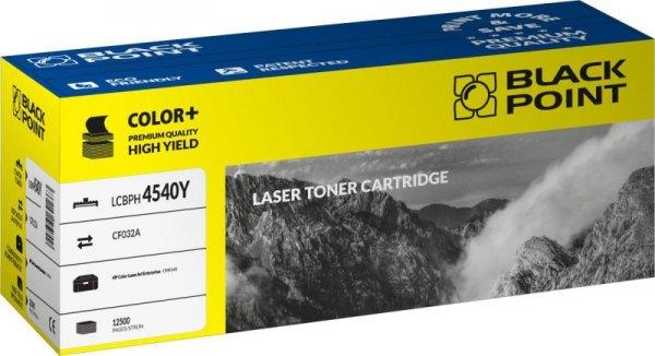 Black Point toner LCBPH4540Y zastępuje HP CF032A, żółty