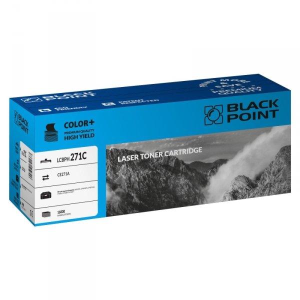 Black Point toner LCBPH271C zastępuje HP CE271A, niebieski