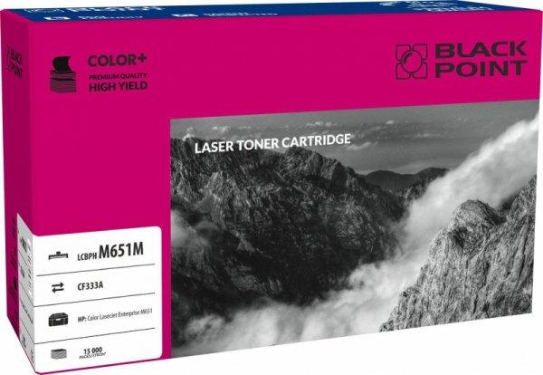 Black Point toner LCBPM651M zastępuje HP CF333A, czerwony