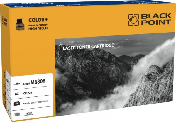 Toner laserowy Black Point LCBPHM680Y, zastępuje HP CF322A, 16500 str.