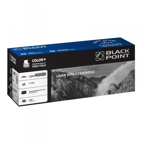 Black Point toner LCBPM880BK zastępuje HP CF300A, czarny