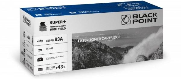 Black Point toner LBPPH83A zastępuje HP CF283A, 2150 stron