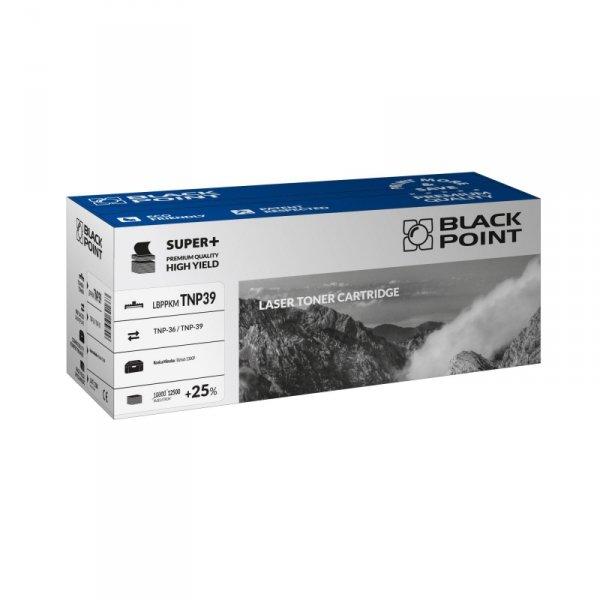 Black Point toner LBPPKMTNP39 zastępuje Minolta TNP-36 / TNP-39, 12500 stron