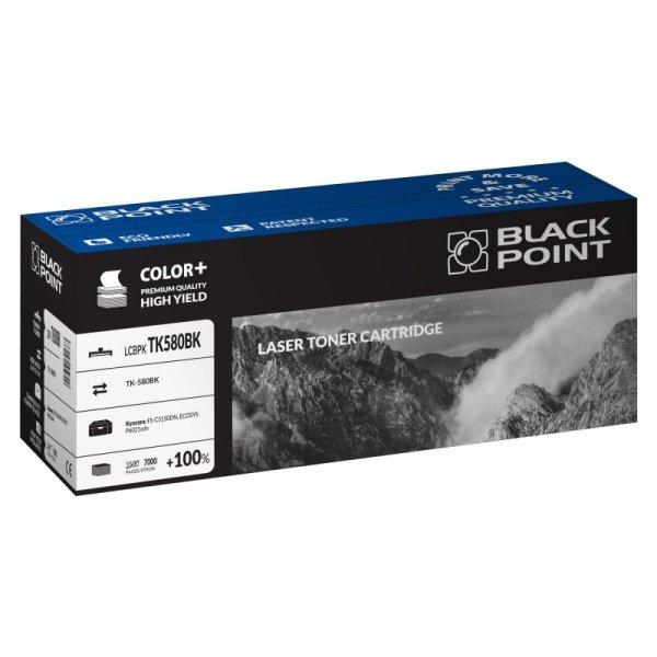 Black Point toner LCBPKTK580BK zastępuje Kyocera TK-580BK, czarny