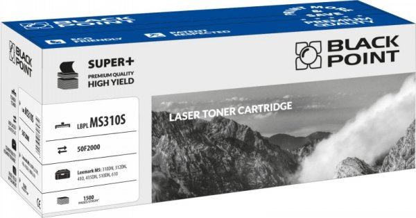 Black Point toner LBPLMS310S zastępuje Lexmark 50F2000, 1500 stron
