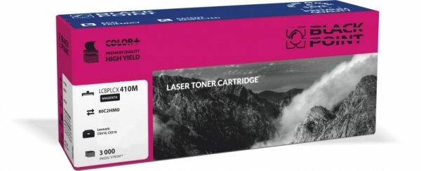 Black Point toner LCBPLCX410M zastępuje Lexmark 80C2HM0 , czerwony