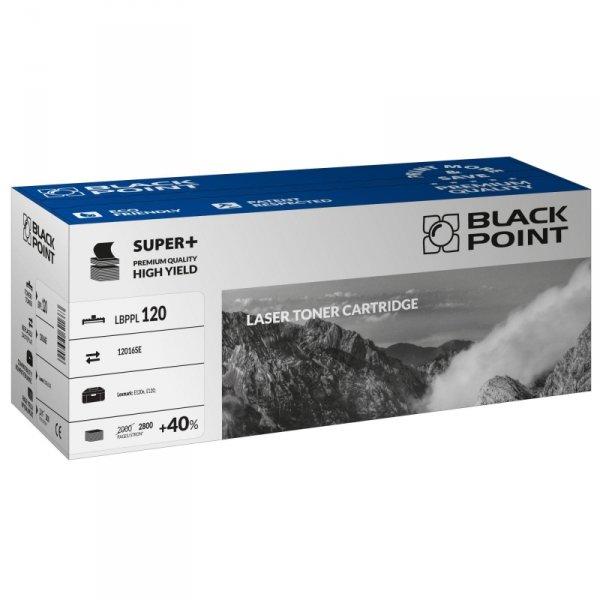 Black Point toner LBPPL120 zastępuje Lexmark 12016SE, 2800 stron