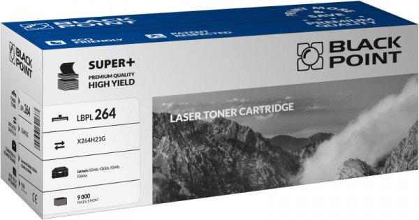 Black Point toner LBPL264 zastępuje Lexmark X264H21G, 9000 stron