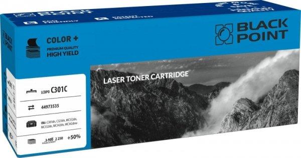 [LCBPOC301C] Toner Black Point Color (Oki 44973535) cyan