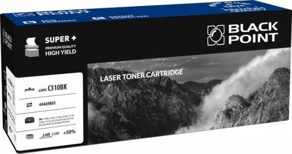 [LCBPOC310BK] Toner Black Point Color (Oki 44469803) black
