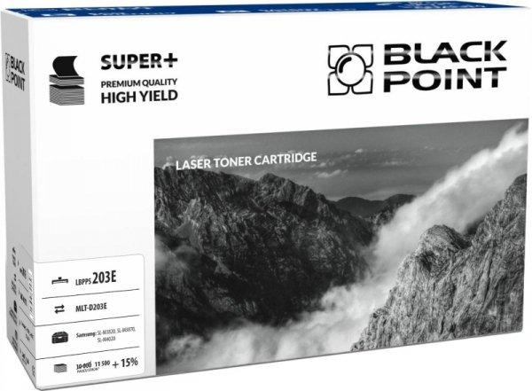 Black Point toner LBPPS203E zastępuje Samsung MLT-D203E, 11500 stron