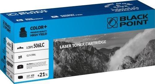 Black Point toner LCBPS506LC zastępuje Samsung CLT-C506L, niebieski
