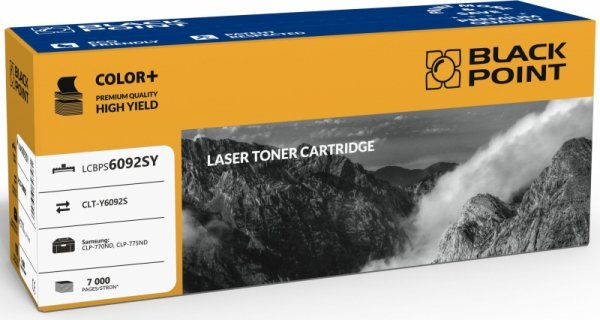[LCBPS6092SY] Toner Black Point Color Samsung (CLT-Y6092S) yellow