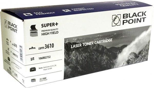 Black Point toner LBPX3610 zastępuje Xerox 106R02732, 25300 stron
