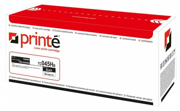 Printé toner TC045HB  zastępuje Canon CRG-045HBK, black